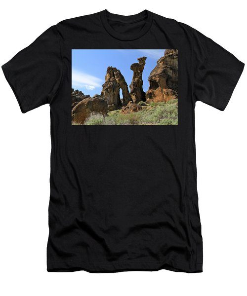 Arches Hoodoos Castles Men's T-Shirt (Athletic Fit)