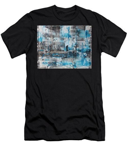 Men's T-Shirt (Athletic Fit) featuring the painting Arctic by 'REA' Gallery