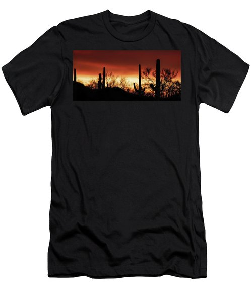 Arizona Monsoon Sunset 2019 Men's T-Shirt (Athletic Fit)