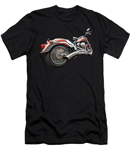Lightning Fast - Screamin' Eagle Harley Men's T-Shirt (Athletic Fit)
