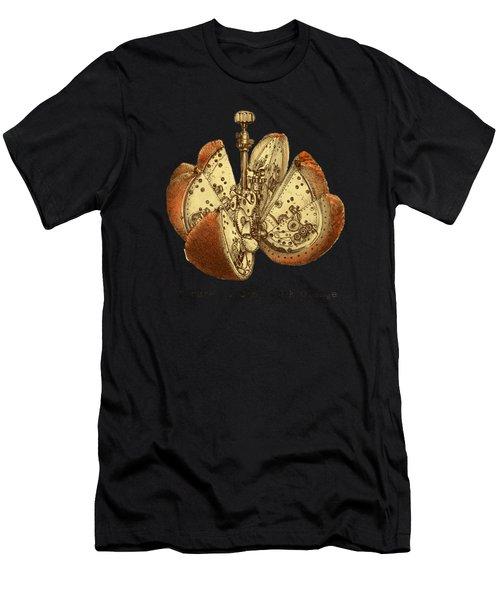 Steampunk Orange Men's T-Shirt (Athletic Fit)