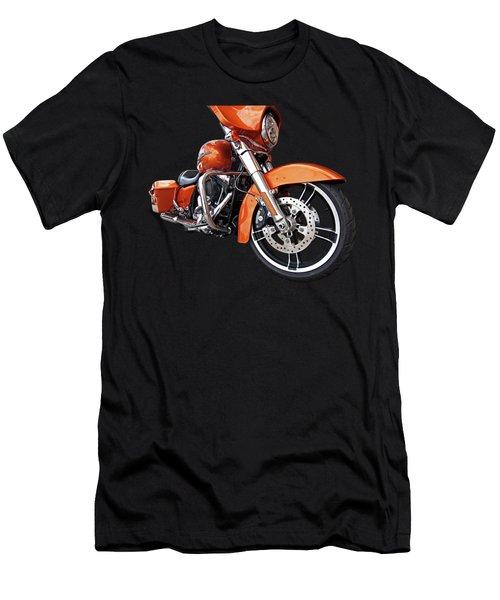 Sundown - Harley Street Glide Men's T-Shirt (Athletic Fit)