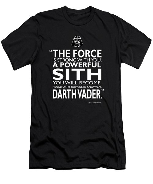 A Powerful Sith Men's T-Shirt (Athletic Fit)