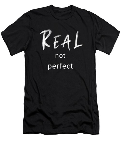 Real Not Perfect Men's T-Shirt (Athletic Fit)