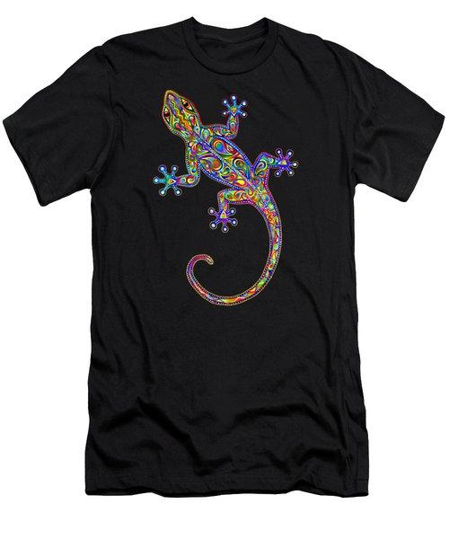 Electric Gecko Men's T-Shirt (Athletic Fit)