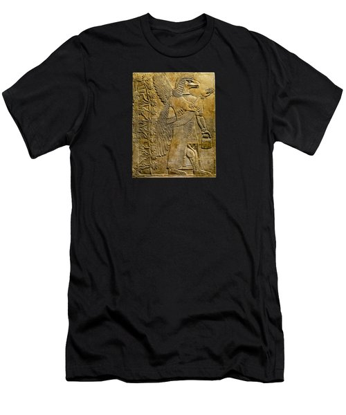 Assyrian Winged Genie 2 Men's T-Shirt (Athletic Fit)