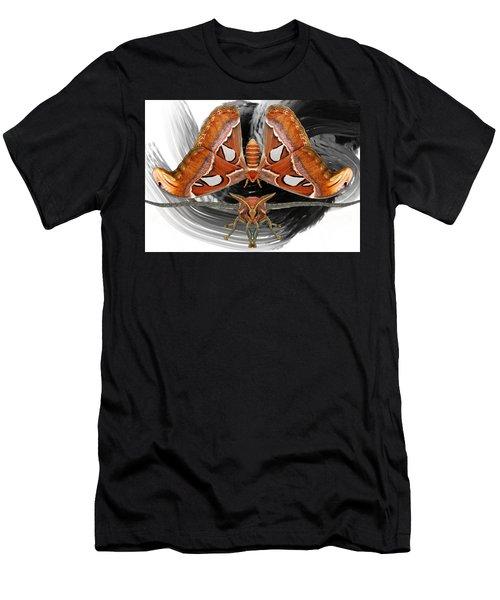 Atlas Moth8 Men's T-Shirt (Athletic Fit)