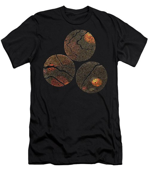 Atoms Ink Artwork Men's T-Shirt (Athletic Fit)