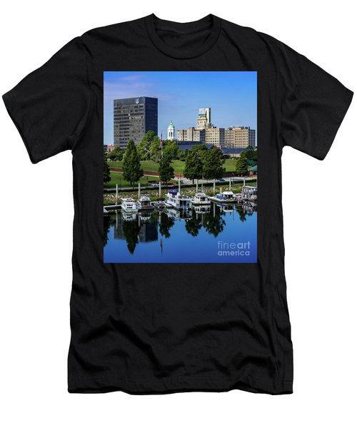 Augusta Ga Savannah River 3 Men's T-Shirt (Athletic Fit)
