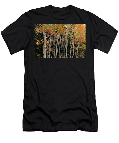 Men's T-Shirt (Athletic Fit) featuring the photograph Autumn As The Seasons Change by James BO Insogna