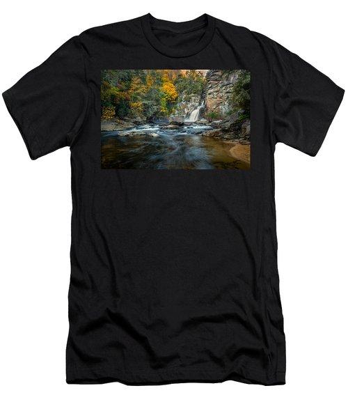 Autumn At Linville Falls - Linville Gorge Blue Ridge Parkway Men's T-Shirt (Athletic Fit)
