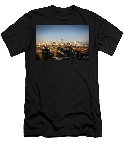 Autumn At The City Men's T-Shirt (Athletic Fit)
