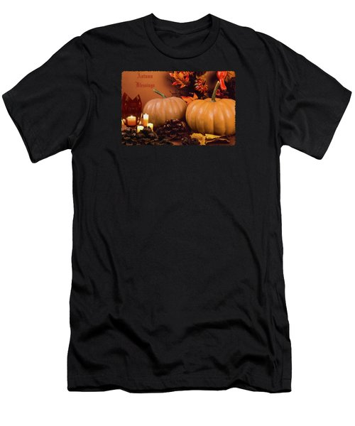 Autumn Blessings Men's T-Shirt (Athletic Fit)