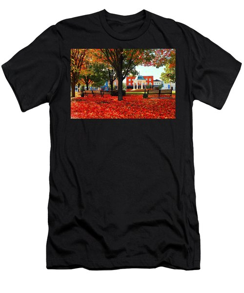 Autumn Main Street Men's T-Shirt (Athletic Fit)