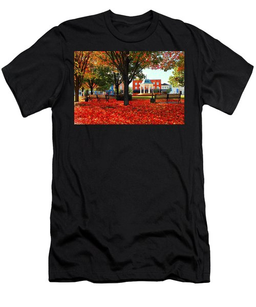 Autumn Main Street Men's T-Shirt (Athletic Fit)