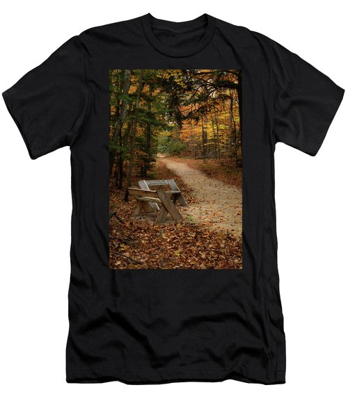 Autumn Meetup Men's T-Shirt (Athletic Fit)