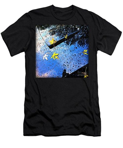 Autumn Raindrops Car Reflections Men's T-Shirt (Athletic Fit)
