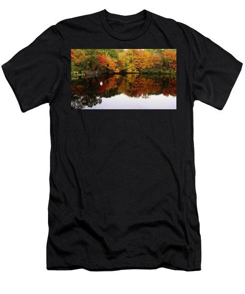 Autumn's Peacefulness Men's T-Shirt (Athletic Fit)