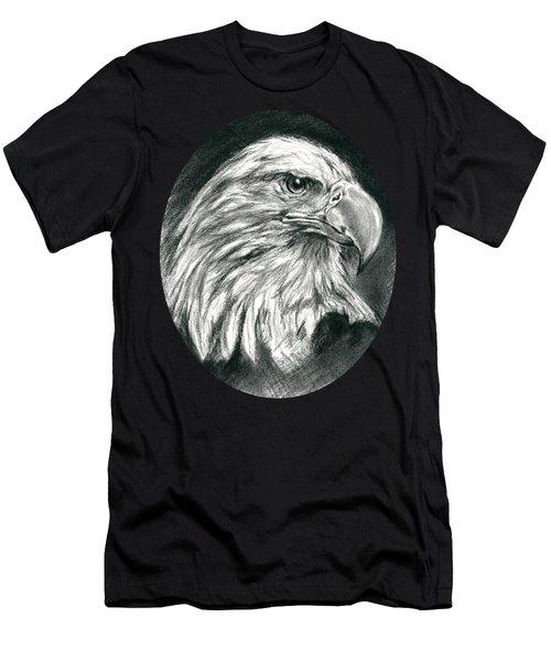 Bald Eagle Intensity Men's T-Shirt (Athletic Fit)