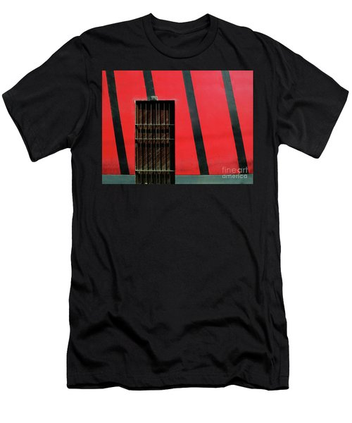 Men's T-Shirt (Athletic Fit) featuring the photograph Bars And Stripes by Rick Locke