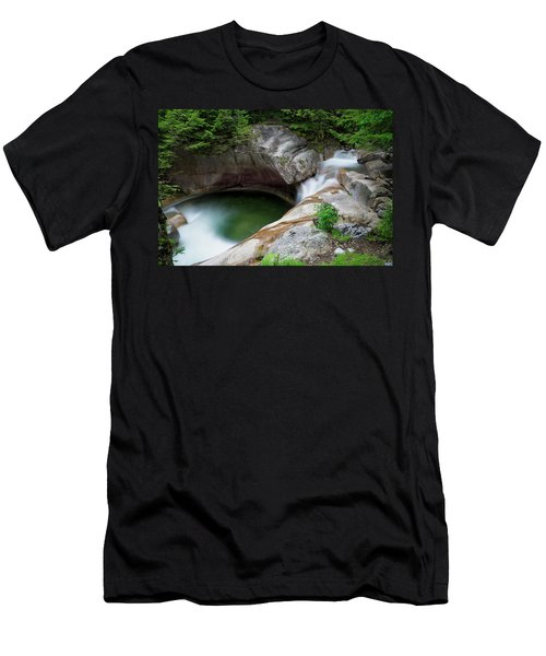 Basin From Above, Nh Men's T-Shirt (Athletic Fit)