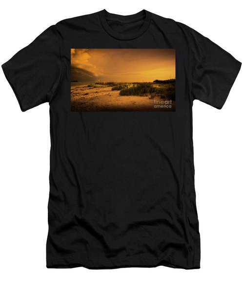 Beach Storm Front Men's T-Shirt (Athletic Fit)
