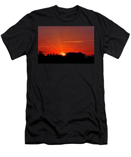 Beacon Heights Sunrise Men's T-Shirt (Athletic Fit)
