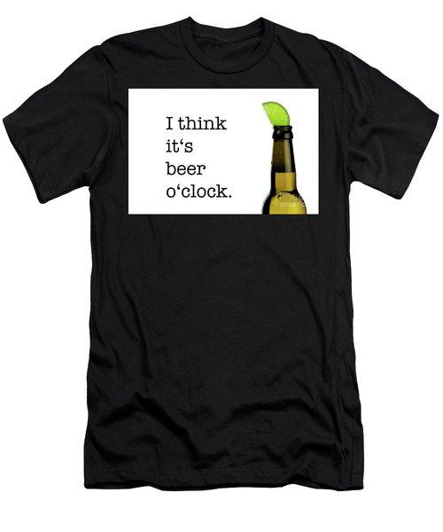Beer O' Clock Men's T-Shirt (Athletic Fit)