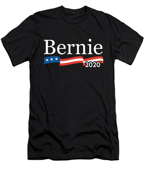 Bernie For President 2020 Men's T-Shirt (Athletic Fit)