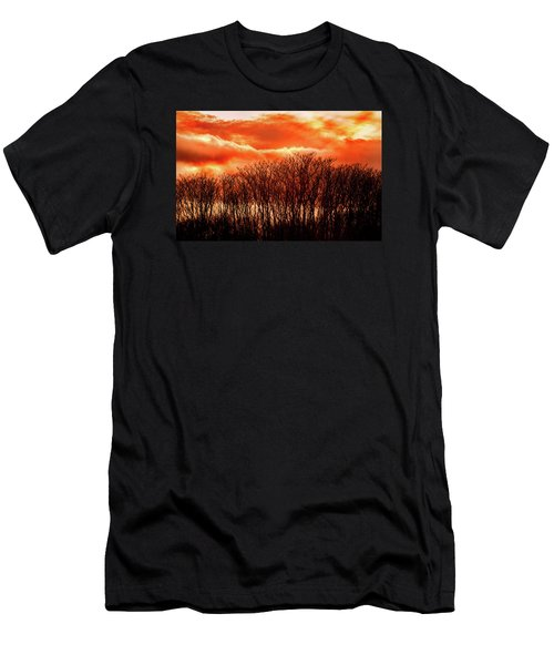Bhrp Sunset Men's T-Shirt (Athletic Fit)