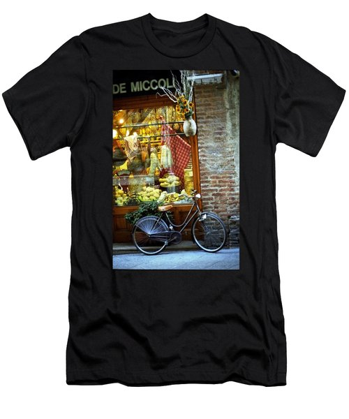 Bike In Sienna Men's T-Shirt (Athletic Fit)
