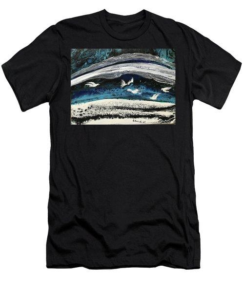 Birds Of Paradise #5 Men's T-Shirt (Athletic Fit)