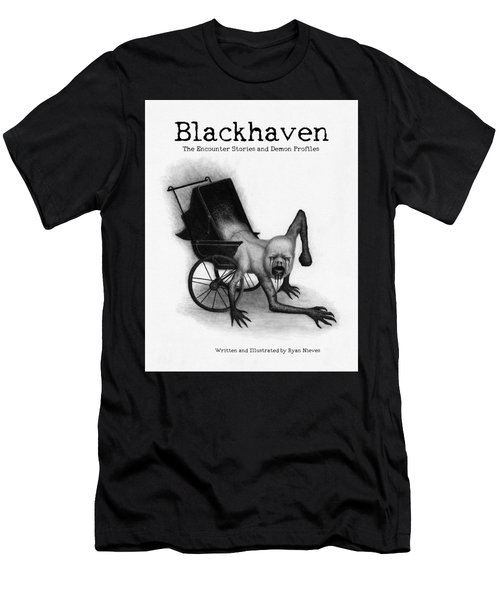 Blackhaven The Encounter Stories And Demon Profiles Bookcover, Shirts, And Other Products Men's T-Shirt (Athletic Fit)