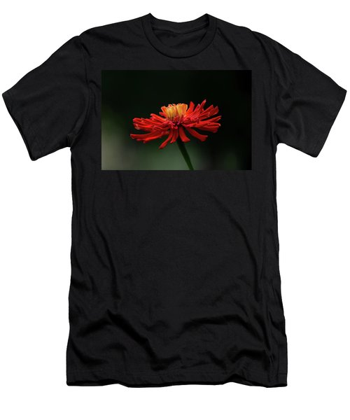 Men's T-Shirt (Athletic Fit) featuring the photograph Blazing Red by Dale Kincaid
