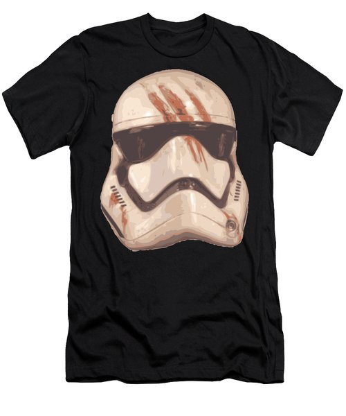 Bloody Helmet Men's T-Shirt (Athletic Fit)