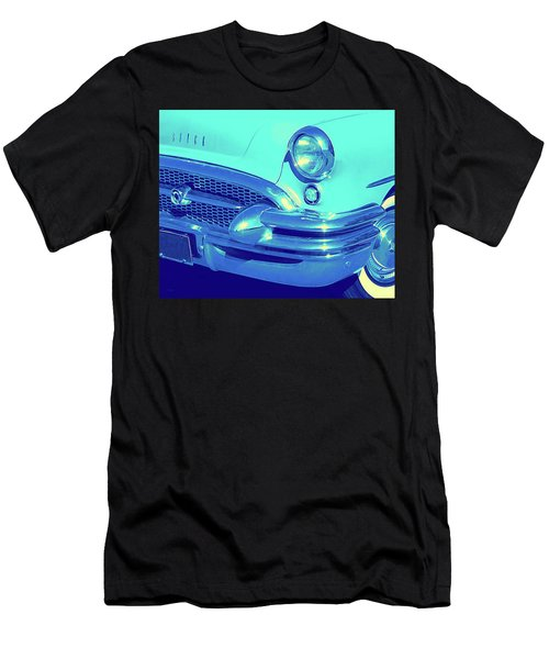 Blue 1955 Buick Special Men's T-Shirt (Athletic Fit)