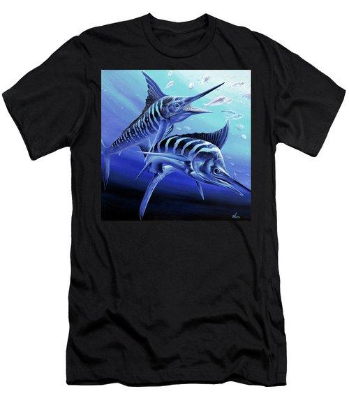 Blue Marlins Men's T-Shirt (Athletic Fit)