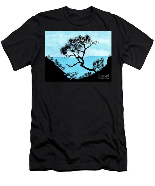 Blue Mountain Men's T-Shirt (Athletic Fit)