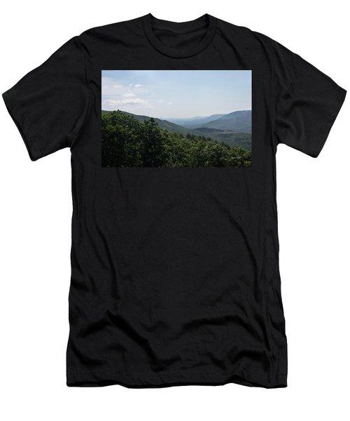 Blue Ridge Mountain Views IIi Men's T-Shirt (Athletic Fit)