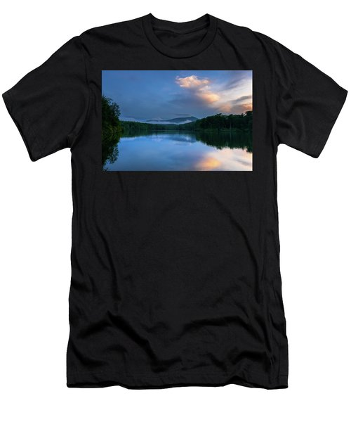 Blue Ridge Parkway - Price Lake - North Carolina Men's T-Shirt (Athletic Fit)