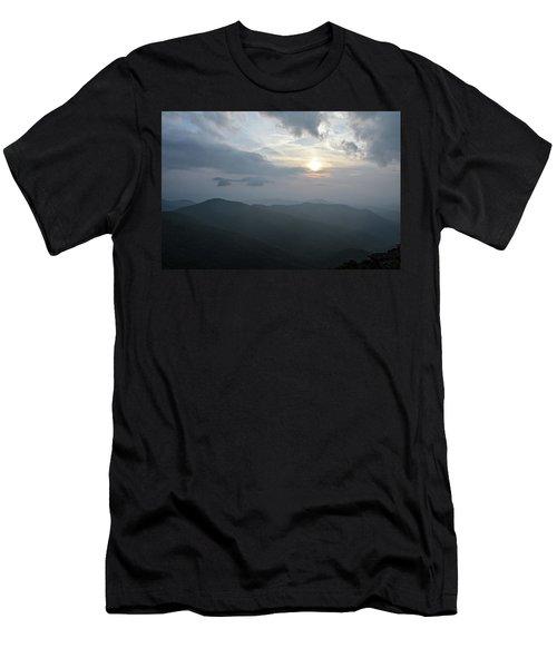 Blue Ridge Parkway Sunset Men's T-Shirt (Athletic Fit)