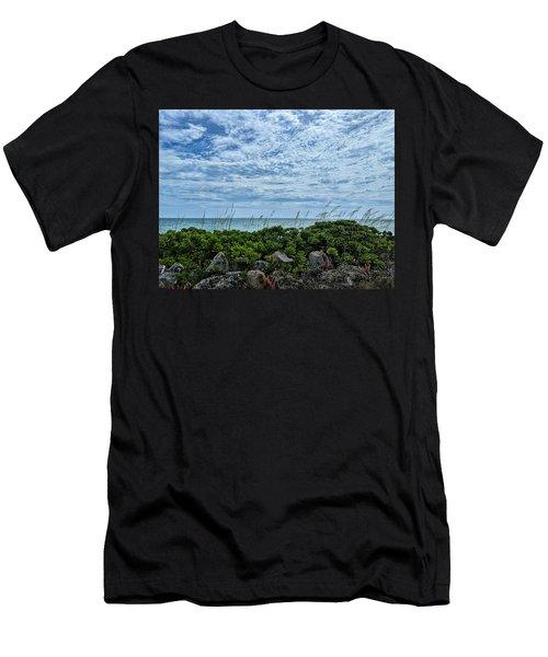 Blue Sky Lullaby Men's T-Shirt (Athletic Fit)