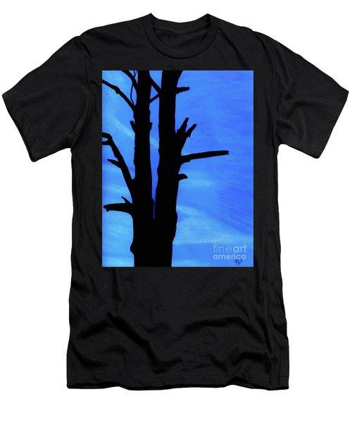 Blue Sky Tree Men's T-Shirt (Athletic Fit)
