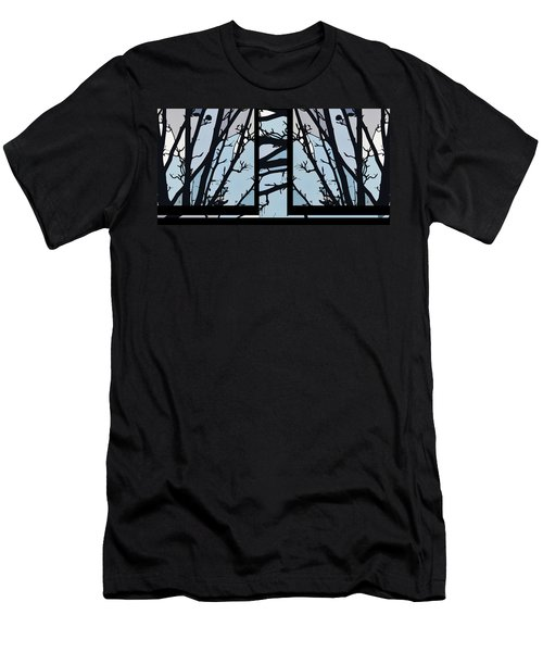 Blues - Barely Spring Abstract - Men's T-Shirt (Athletic Fit)