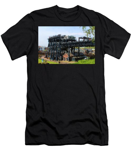 Boat Lift Men's T-Shirt (Athletic Fit)