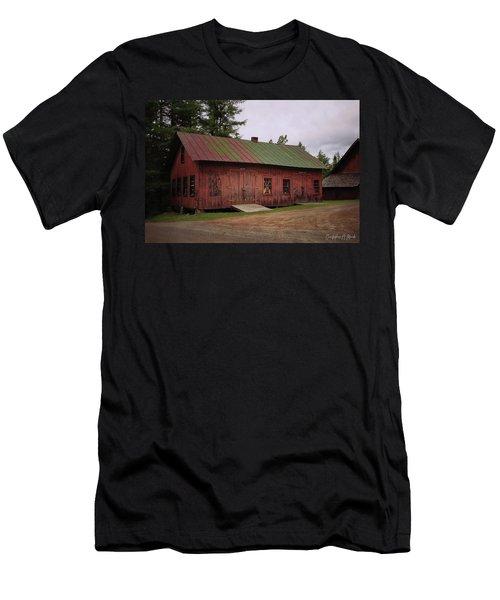 Boat Shop Men's T-Shirt (Athletic Fit)