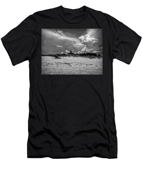 Boca Grande Lighthouse Men's T-Shirt (Athletic Fit)