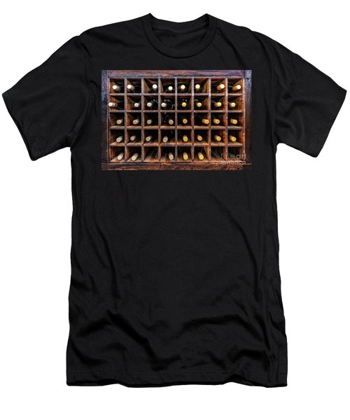 Bottles Of Wine Men's T-Shirt (Athletic Fit)