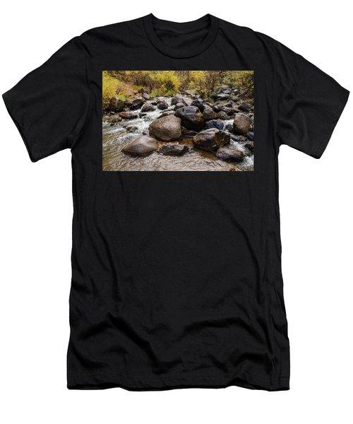 Boulders In Creek Men's T-Shirt (Athletic Fit)