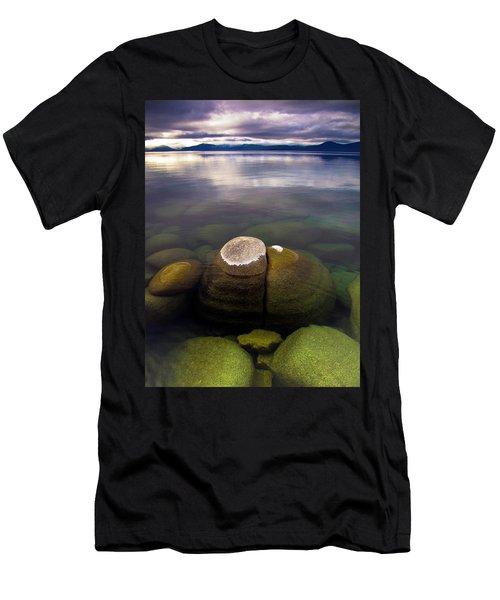 Boulders Underwater At Sand Harbor Men's T-Shirt (Athletic Fit)